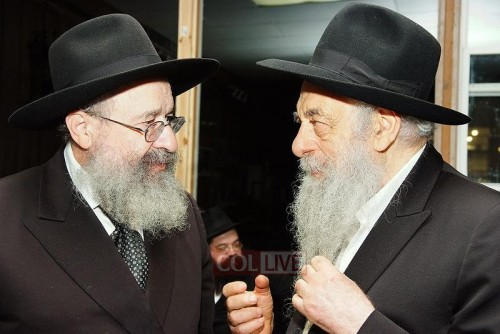 Rel Yoel Kahan and Reb Leibel Schapiro